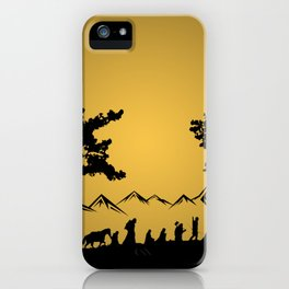 The Nines Companions iPhone Case