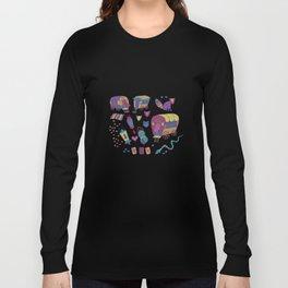 Caravan Pattern Long Sleeve T-shirt