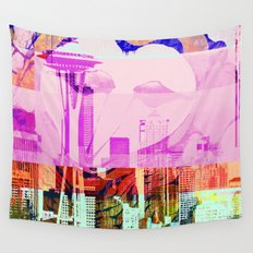 Seattle | Project L0̷SS   Wall Tapestry