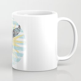 Vintage Hawaiian Whales Tail Coffee Mug