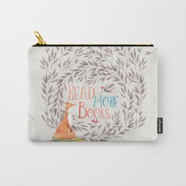Read More Books - Fox Carry-All Pouch