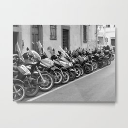 All in a line Metal Print