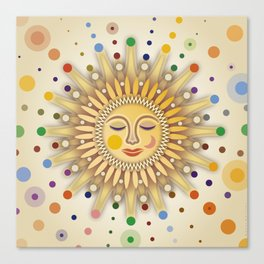 Sunshine with Placidity Canvas Print