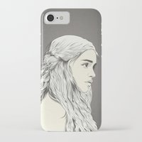 daenerys iPhone & iPod Cases featuring D T by CranioDsgn