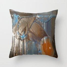 Smelting Metal Throw Pillow
