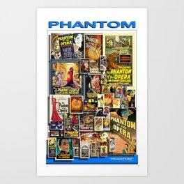 Vintage Phantom by iamjohnlogan Art Print