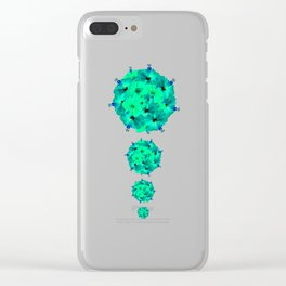 A Gem of a kind Clear iPhone Case