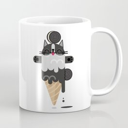 OREO CAT ICE CREAM SUPER PAPER HERO Coffee Mug