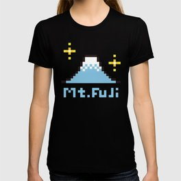 Dot picture Mt.FUJI T-shirt