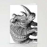 bioworkz Stationery Cards featuring Rhinoceros by BIOWORKZ