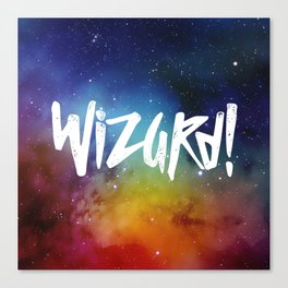 Wizard! Canvas Print