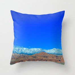 For the Love of Utah Throw Pillow