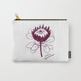 Protea Cynaroides Carry-All Pouch