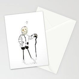 Ass bowl tripod Stationery Cards