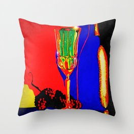"""Infrared Evenings"" Throw Pillow"