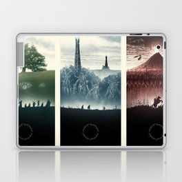 Tolkien Books Laptop & iPad Skin