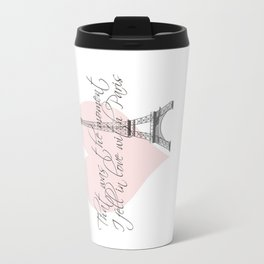 That was the moment I fell in Love with Paris  Travel Mug
