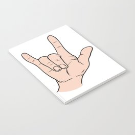 LOVE You Sign Notebook