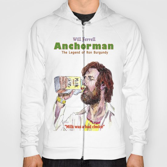 Anchorman: The Legend of Ron Burgundy Hoody