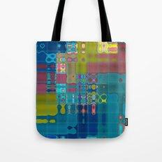 Deco Fractal Tote Bag