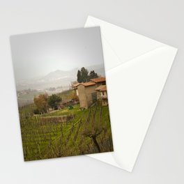 vineyard in veneto Stationery Cards