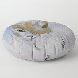 Nigel The Cat Floor Pillow