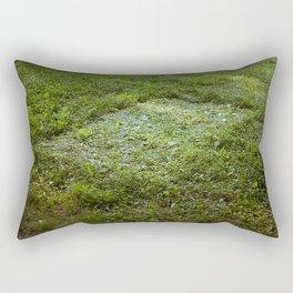 Grass Impression  Rectangular Pillow