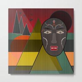 Africa . Metal Print