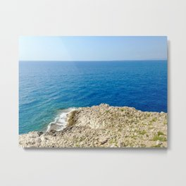 Bunker Sea View Metal Print