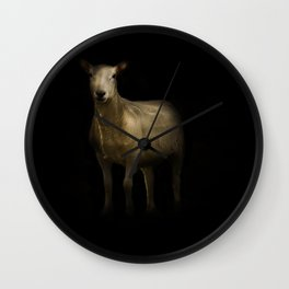 Ewe Portrait Wall Clock