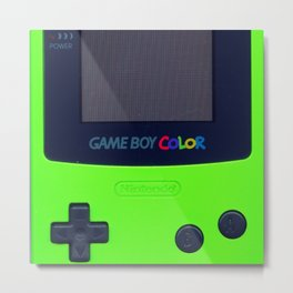 Retro Gameboy Metal Print