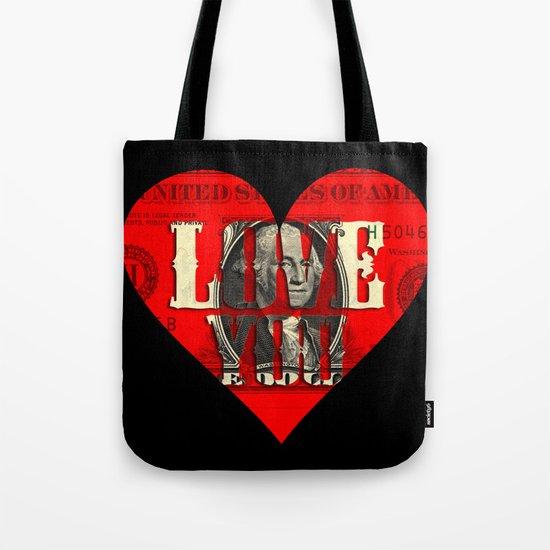 Modern Times - Real Love Tote Bag