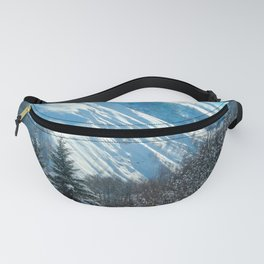 Bright Alpine View Fanny Pack