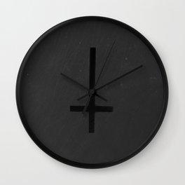 Tender in Black Wall Clock