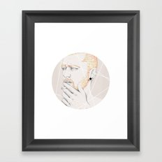Colour me blind II Framed Art Print