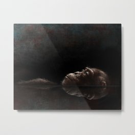 Chimp Tank Metal Print