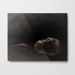 Chimp Tank Metal Print