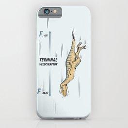 Terminal Velociraptor iPhone Case
