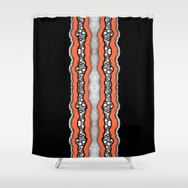 Abstraction One Shower Curtain