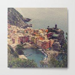 Vernazza, Cinque Terra, Italy Metal Print