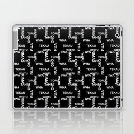 MAD TAHI-TEKAU Black 01-10 Laptop & iPad Skin