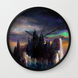 Isle of the Dead Wall Clock