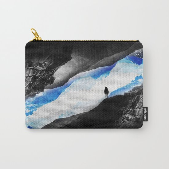 Vision of the frosty mountains Carry-All Pouch