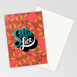 Selfie Lice Stationery Cards