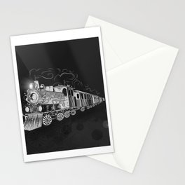 A nostalgic train Stationery Cards