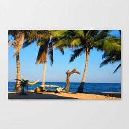 Windsurf Beach Canvas Print
