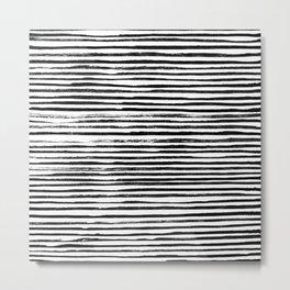 Ink Drawing Pattern 001 Metal Print
