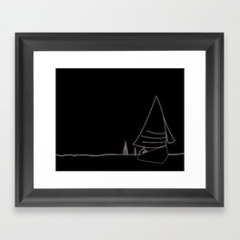 Regatta Framed Art Print