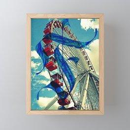 Letter F is for Ferris Wheel and Bueller Framed Mini Art Print