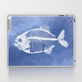 Memoria Amazonica - Blue Pastel Piranha Laptop & iPad Skin